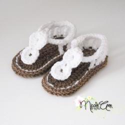 Baby Girl Spiral Sandals